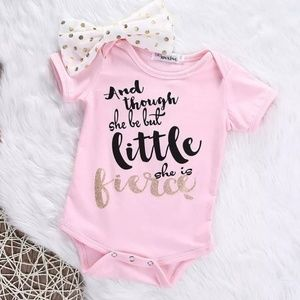 Other - She Be Fierce Onsie